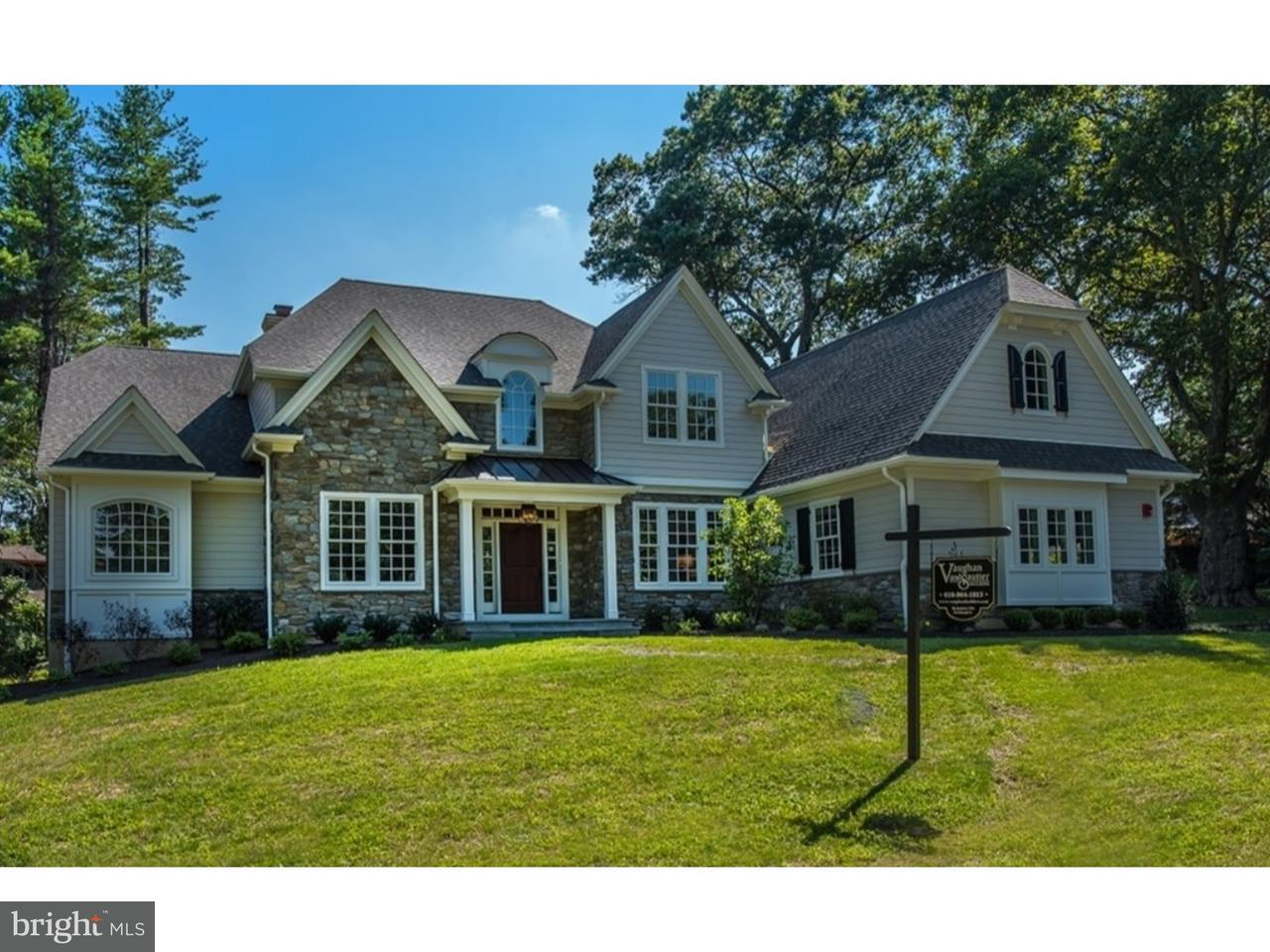 Single Family Home for Sale at 1081 BARON Drive Bryn Mawr, Pennsylvania 19010 United States