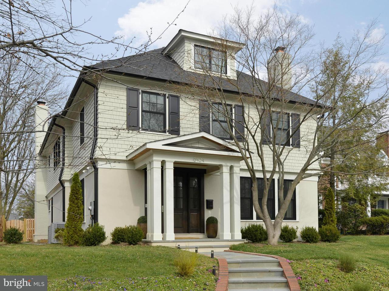 Single Family Home for Sale at 6517 Barnaby St Nw 6517 Barnaby St Nw Washington, District Of Columbia 20015 United States