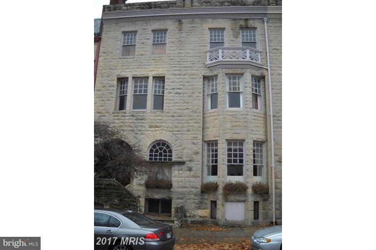 다가구 주택 용 매매 에 1804 Eutaw Place 1804 Eutaw Place Baltimore, 메릴랜드 21217 미국