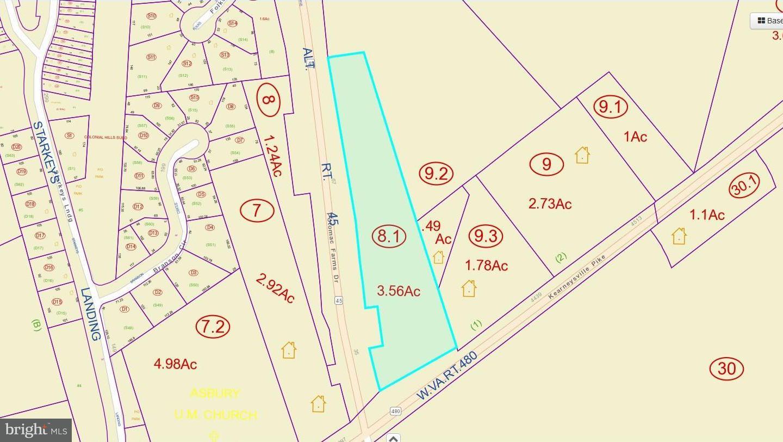 Land for Sale at 4400 Kearneysville Pike Shepherdstown, West Virginia 25443 United States