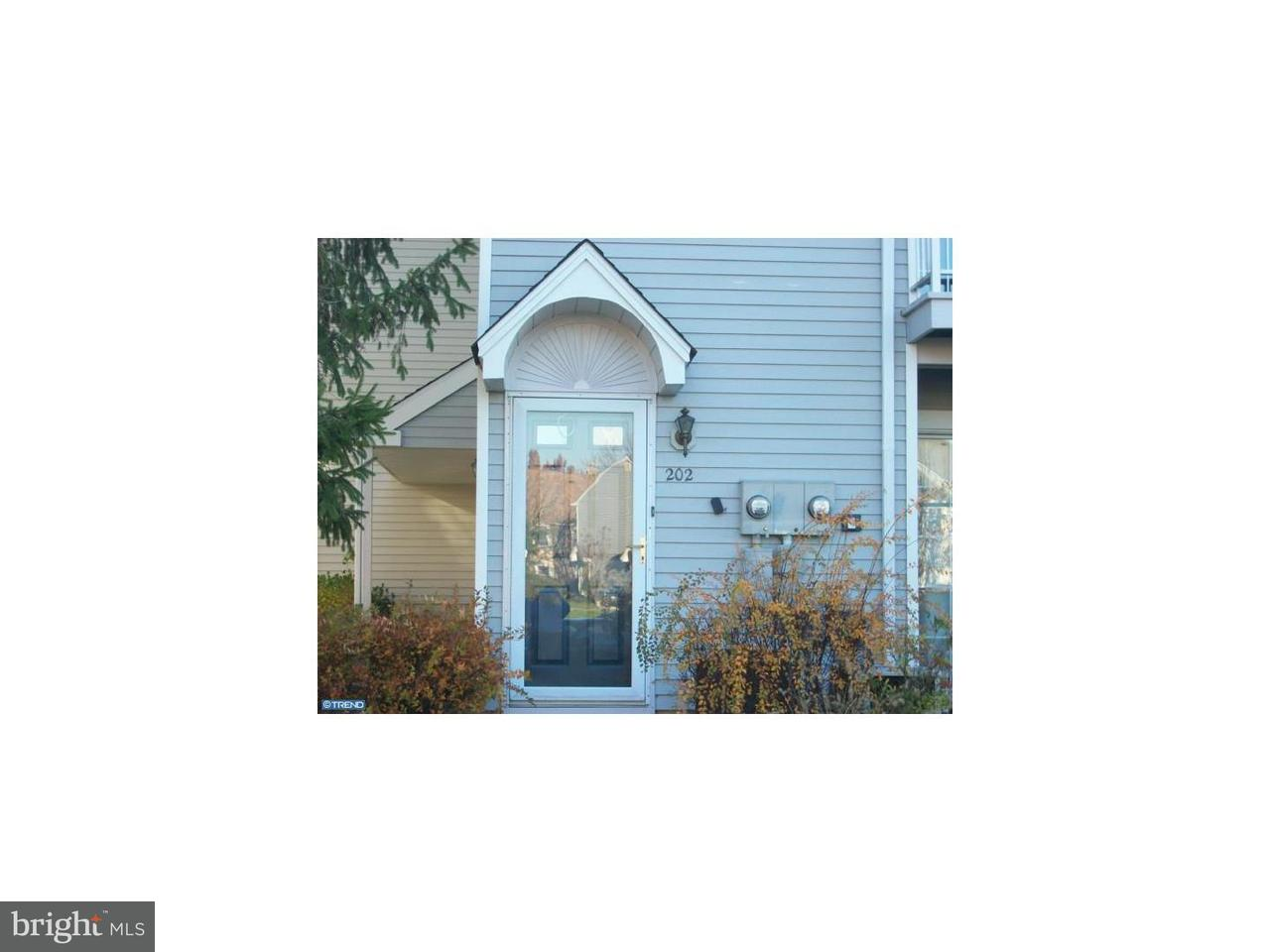 Townhouse for Rent at 202 WIMBLEDON WAY Blackwood, New Jersey 08012 United States