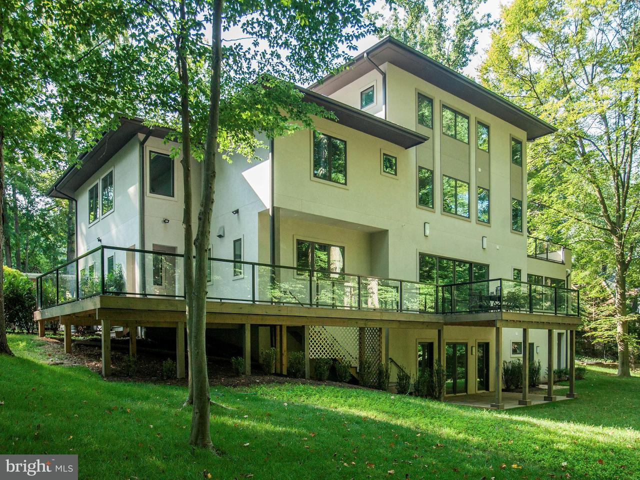 Photo of home for sale at 8920 Burdette Road, Bethesda MD