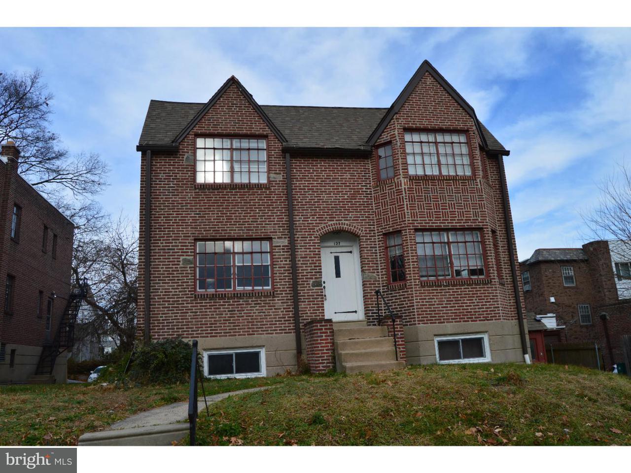Quadraplex 为 出租 在 137 BERKLEY AVE #B Lansdowne, 宾夕法尼亚州 19050 美国