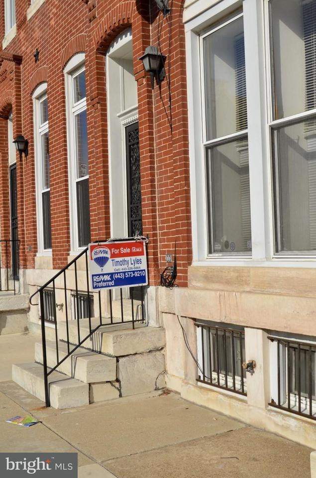 Single Family for Sale at 1121 Fulton Ave NW Baltimore, Maryland 21217 United States