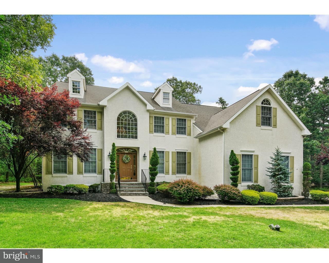 Частный односемейный дом для того Продажа на 18 MAGNOLIA Court Medford, Нью-Джерси 08055 Соединенные Штаты