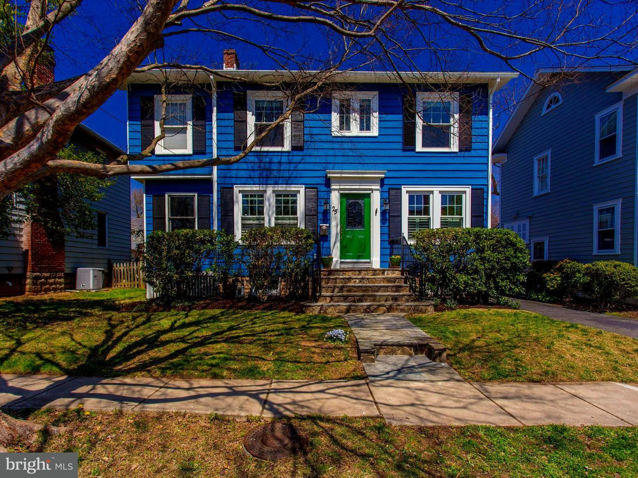 Single Family for Sale at 25 Spring St W Alexandria, Virginia 22301 United States