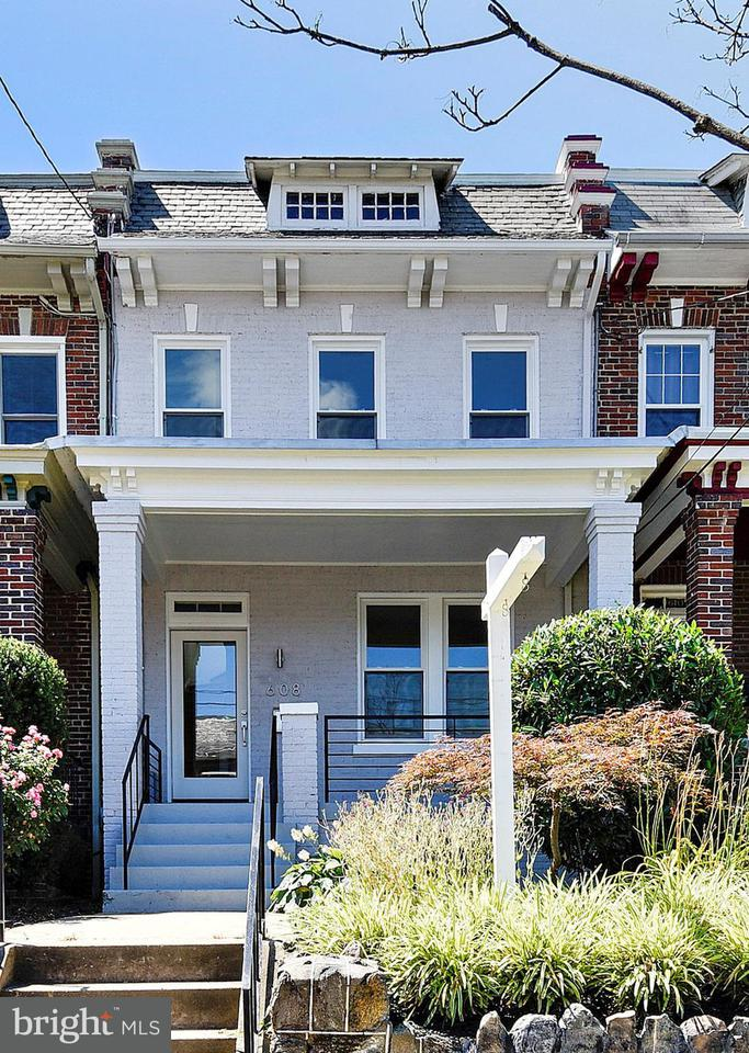 Townhouse for Sale at 608 Emerson St Nw 608 Emerson St Nw Washington, District Of Columbia 20011 United States