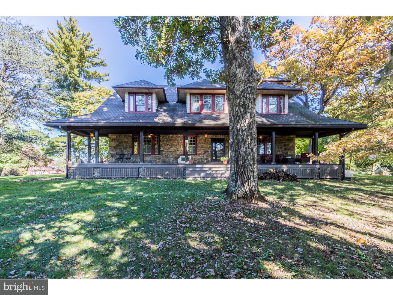 Частный односемейный дом для того Продажа на 1435 MIDDLETOWN Road Glen Mills, Пенсильвания 19342 Соединенные Штаты