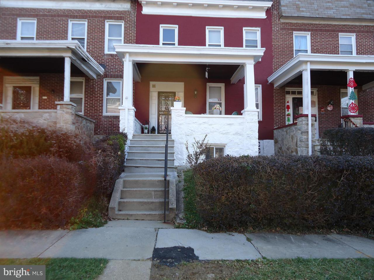 Single Family for Sale at 5107 Queensberry Ave Baltimore, Maryland 21215 United States