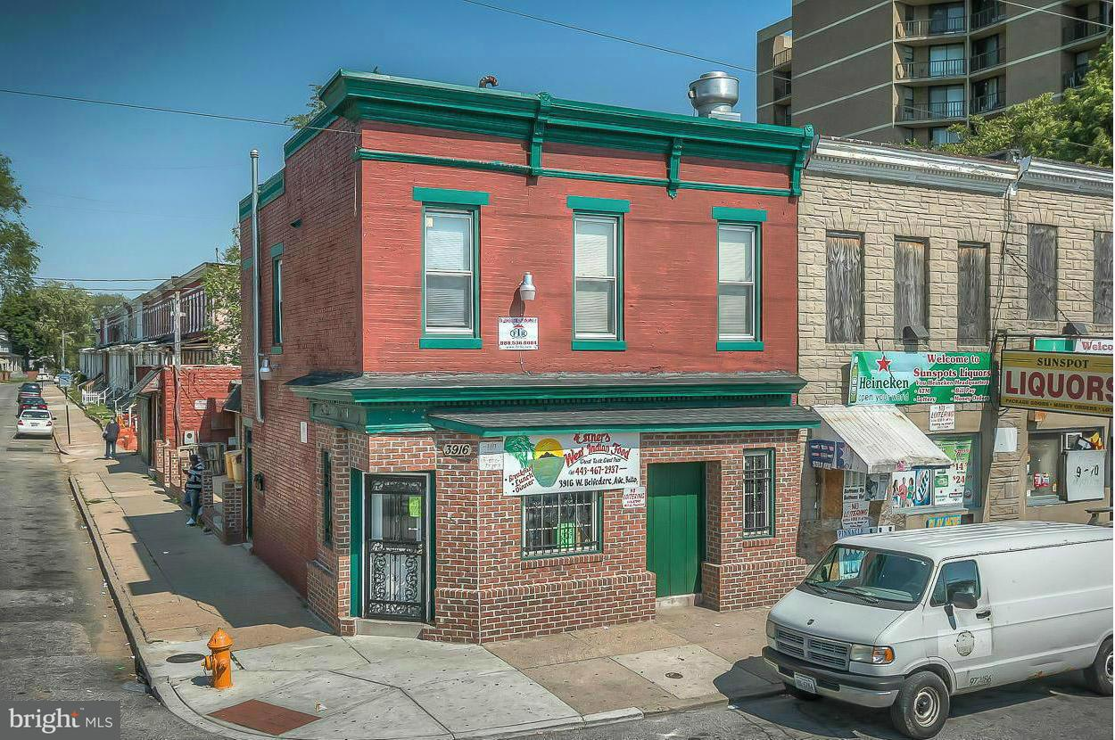 Photo of home for sale at 3916 Belvedere Avenue, Baltimore MD
