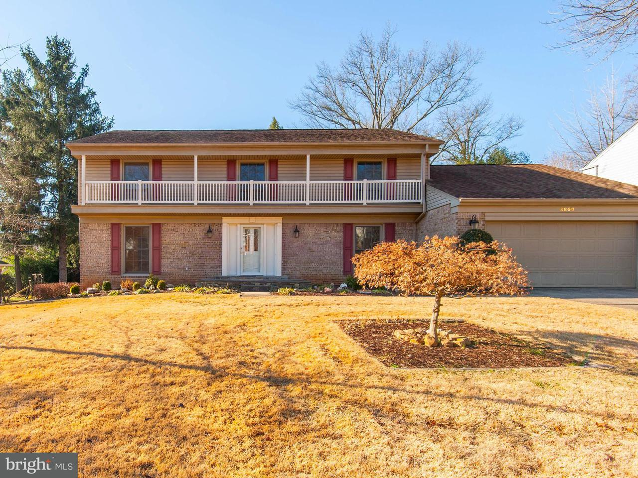 Single Family Home for Sale at 8800 Harness Trail 8800 Harness Trail Potomac, Maryland 20854 United States