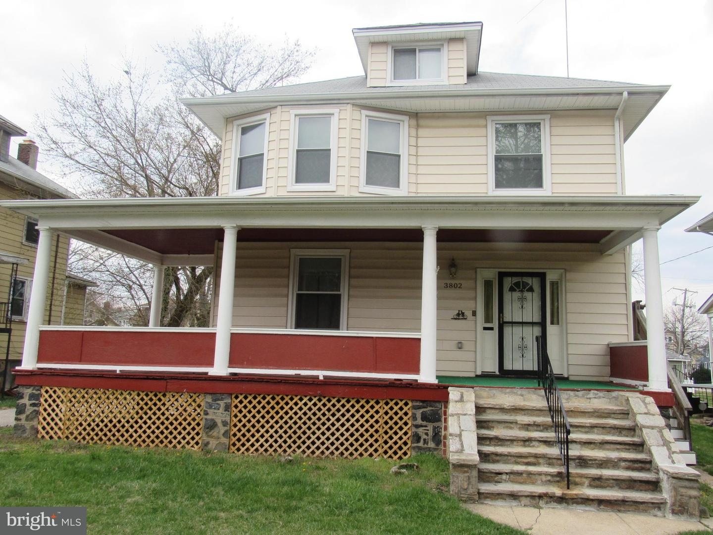 Single Family for Sale at 3802 Chatham Rd Baltimore, Maryland 21215 United States