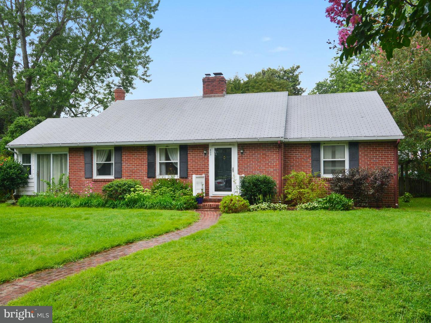 Photo of home for sale at 605 Elwood Avenue, Easton MD