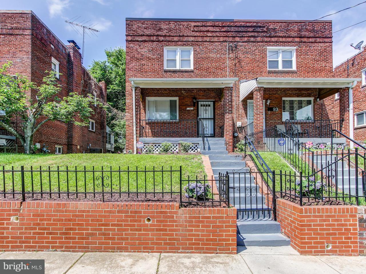 Single Family for Sale at 95 54th St SE Washington, District Of Columbia 20019 United States