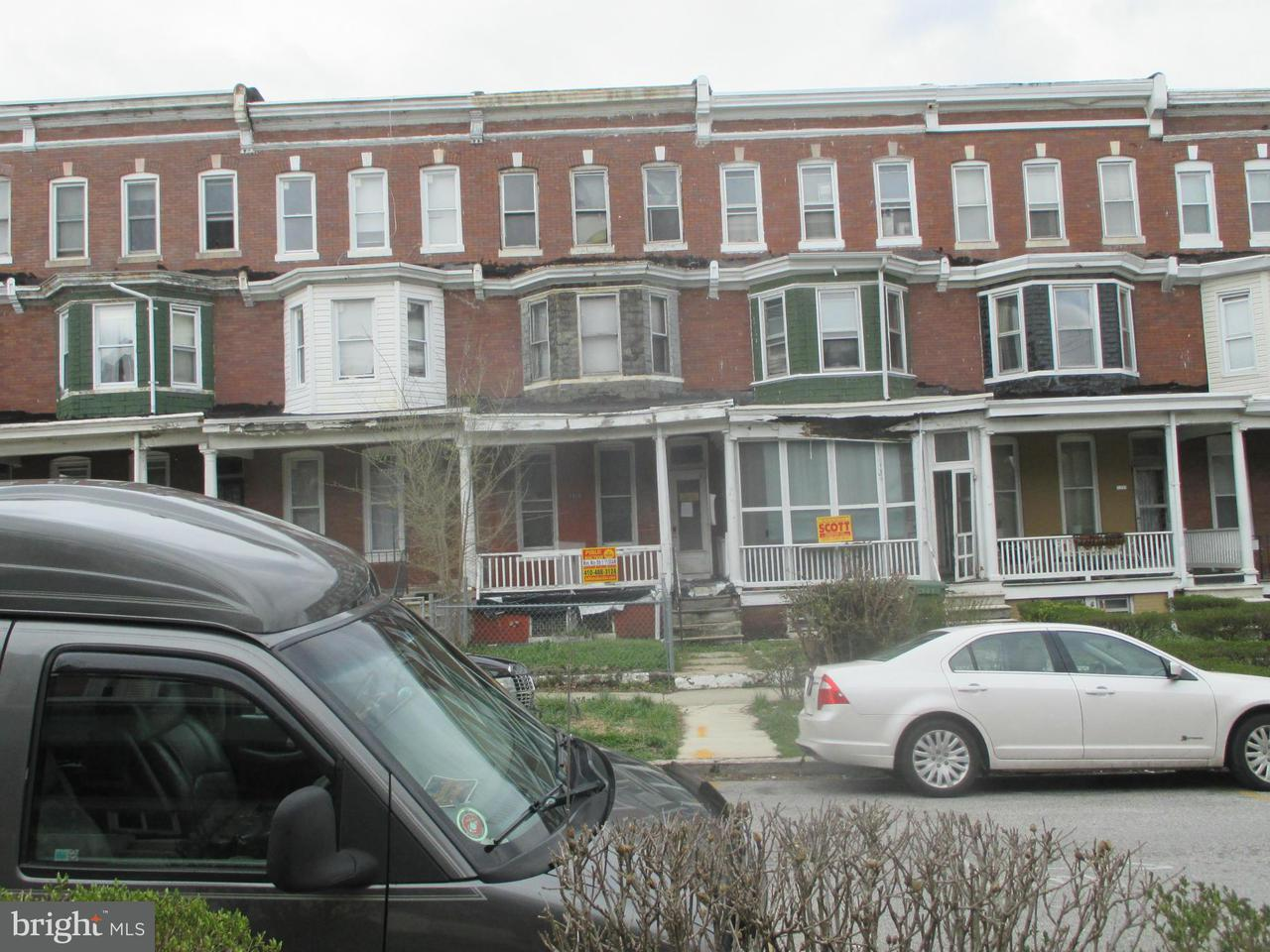 Single Family for Sale at 1816 Ashburton St Baltimore, Maryland 21216 United States