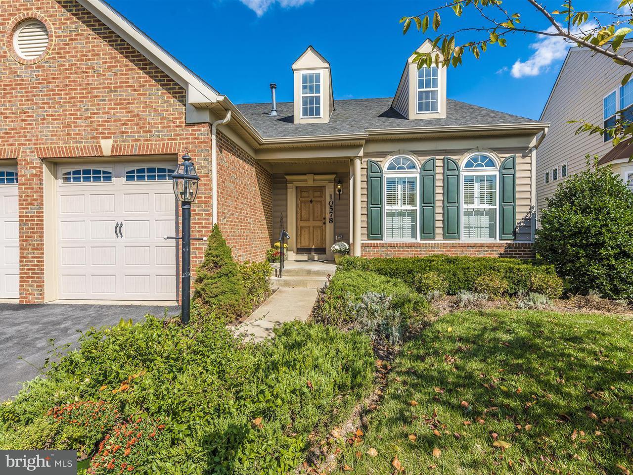 Casa Unifamiliar por un Venta en 10578 Edwardian Ln #133 10578 Edwardian Ln #133 New Market, Maryland 21774 Estados Unidos