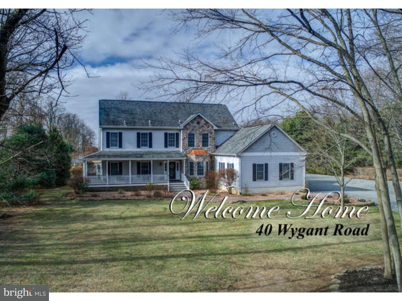 独户住宅 为 销售 在 40 WYGANT Road Cream Ridge, 新泽西州 08514 美国在/周边: Upper Freehold Township