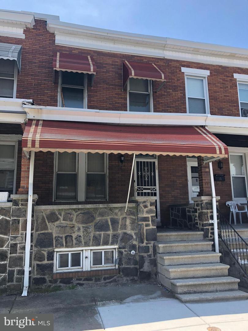 Single Family for Sale at 2803 Ashland Ave Baltimore, Maryland 21205 United States