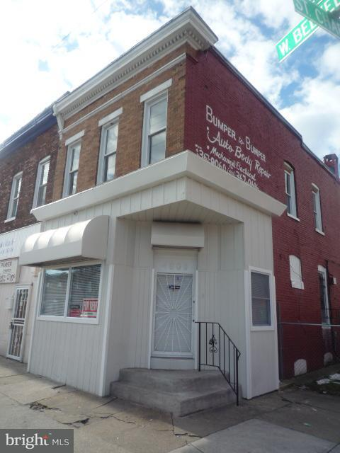 Commercial for Sale at 4000 Belvedere Ave W Baltimore, Maryland 21215 United States