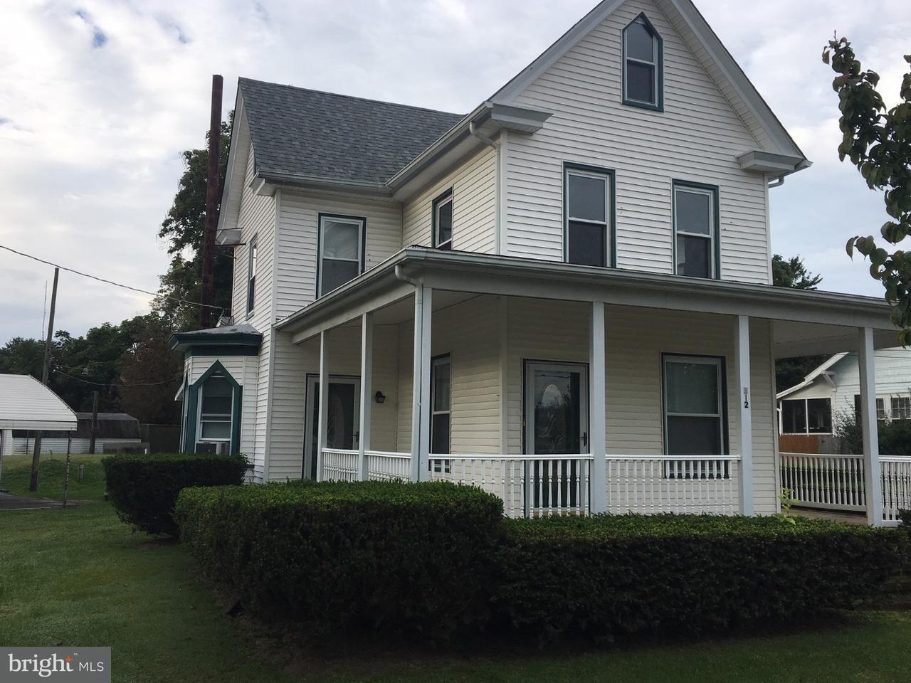 Casa Unifamiliar por un Venta en 312 METHODIST Road Newport, Nueva Jersey 08345 Estados Unidos