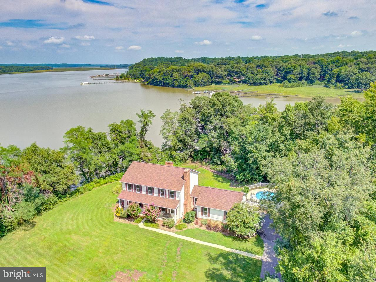 Single Family Home for Sale at 3551 Deep Landing Road 3551 Deep Landing Road Huntingtown, Maryland 20639 United States