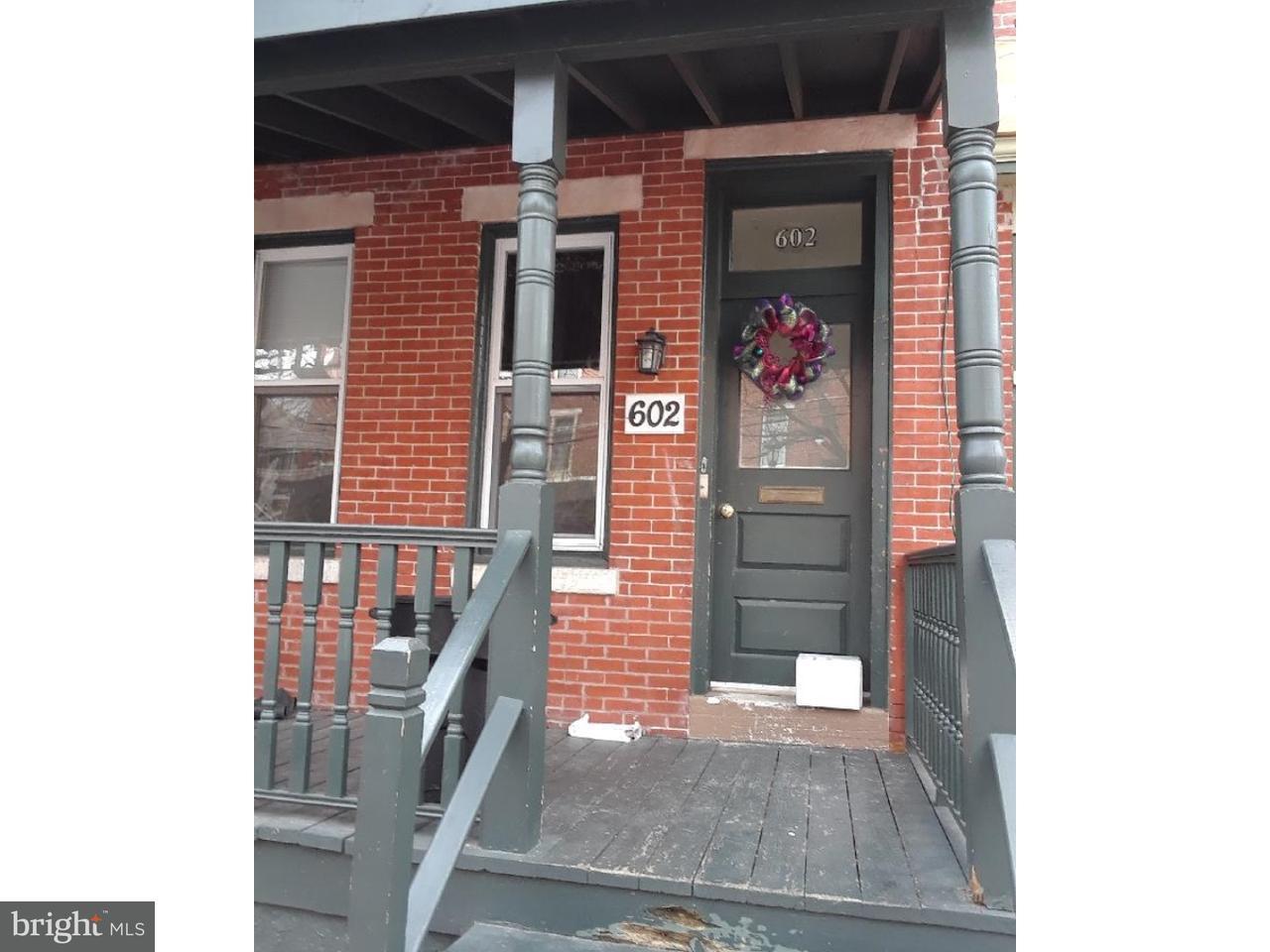 Частный односемейный дом для того Продажа на 602 BERKLEY Street Camden, Нью-Джерси 08103 Соединенные Штаты