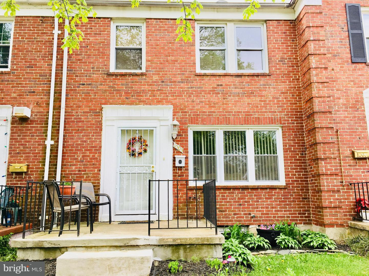 Single Family for Sale at 1503 Northbourne Rd Baltimore, Maryland 21239 United States