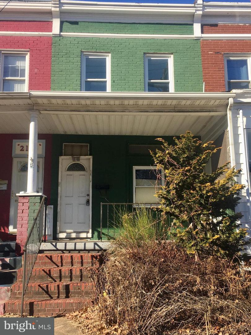 Single Family for Sale at 2162 Druid Park Dr Baltimore, Maryland 21211 United States
