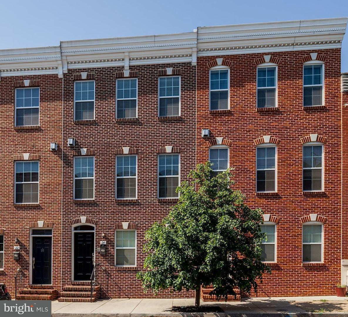 Single Family for Sale at 24 Fort Ave E Baltimore, Maryland 21230 United States
