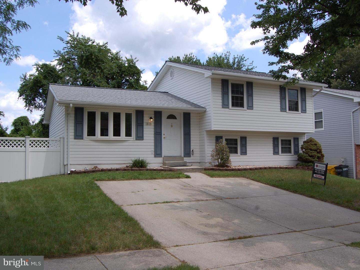 Other Residential for Rent at 1818 Montreal Rd Severn, Maryland 21144 United States