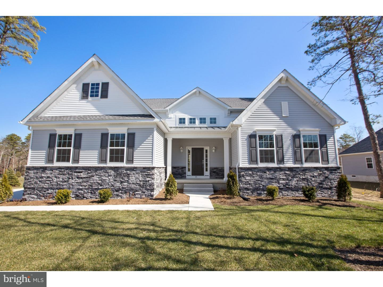 Maison unifamiliale pour l Vente à 14 HIGHLAND Trail Medford Township, New Jersey 08055 États-Unis