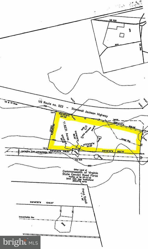 Land for Sale at Front Royal Pike/Rt. 340 White Post, Virginia 22663 United States