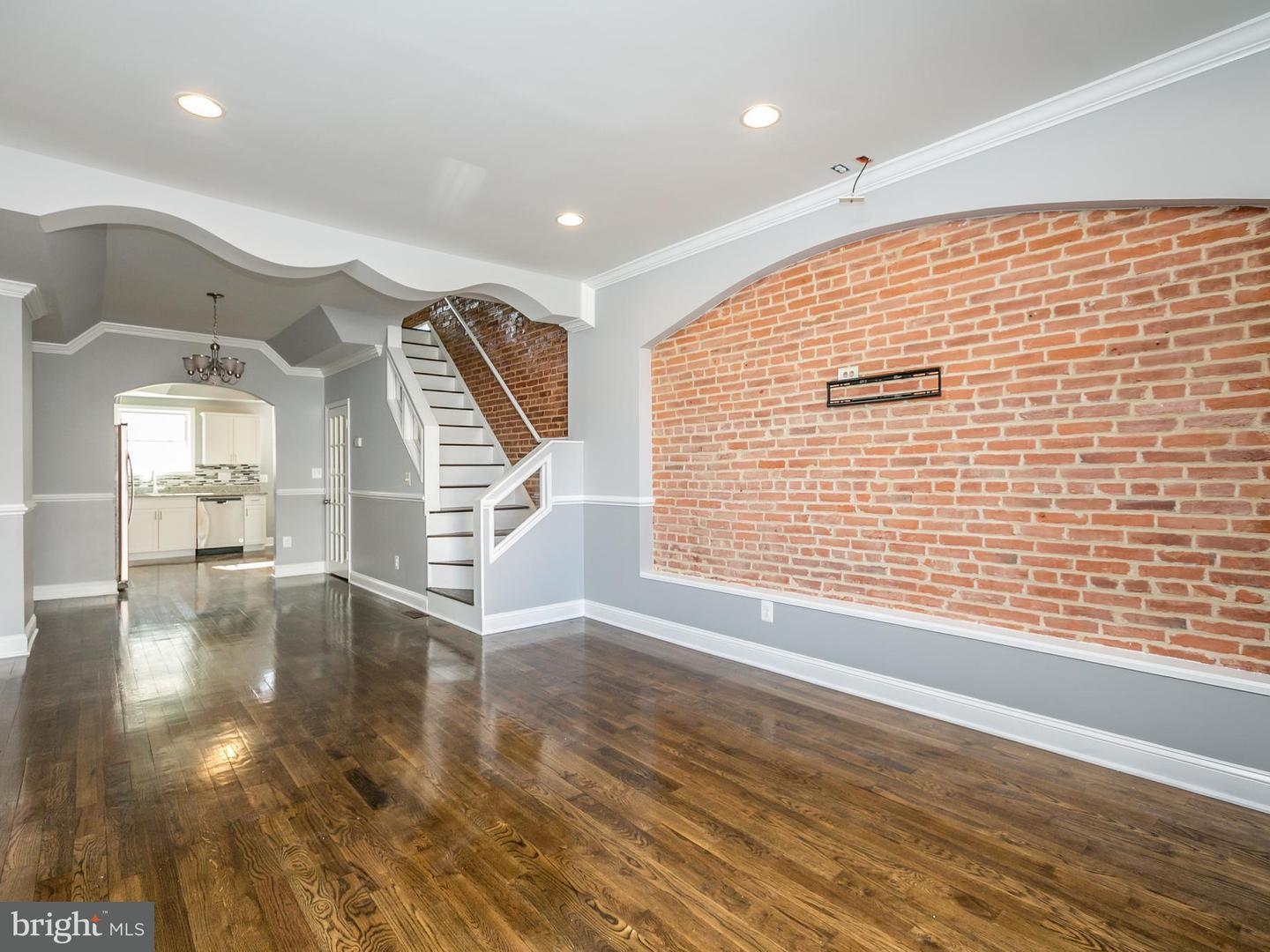 Single Family for Sale at 2329 Jefferson St Baltimore, Maryland 21205 United States