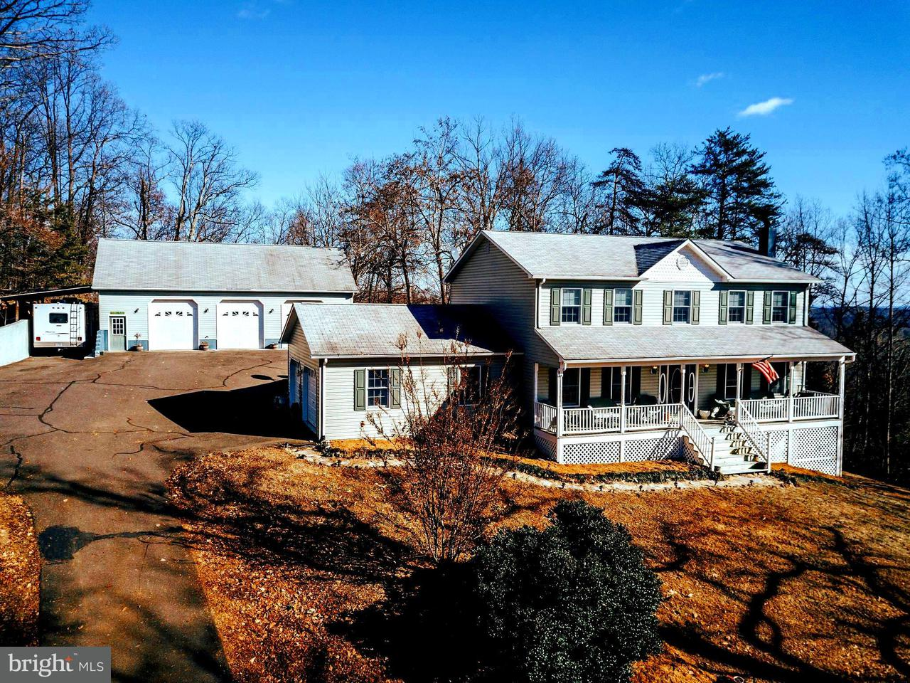 Single Family Home for Sale at 6340 Intervale Road 6340 Intervale Road Reva, Virginia 22735 United States