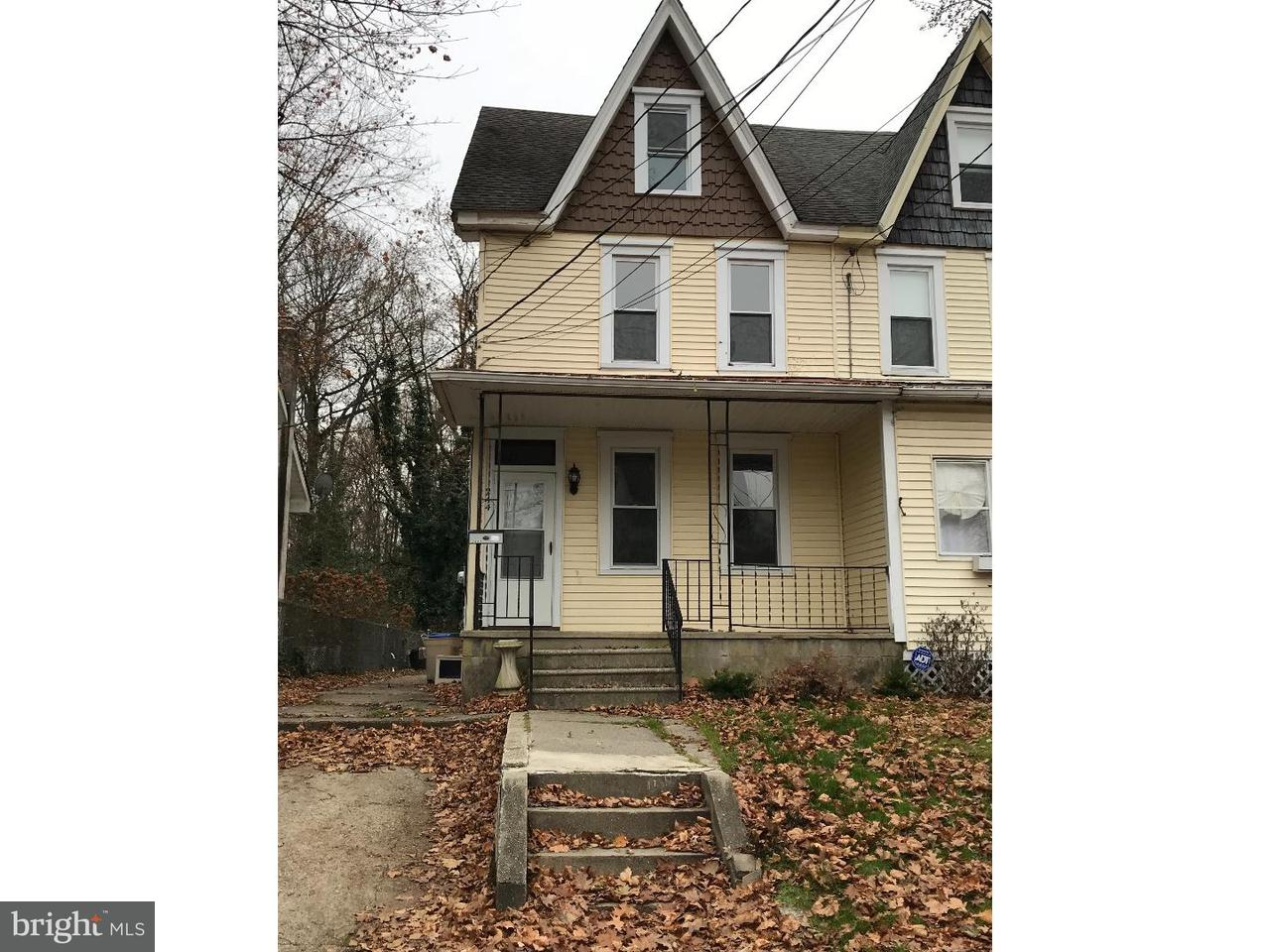 Townhouse for Rent at 244 RUTLAND Avenue Mount Holly, New Jersey 08060 United States