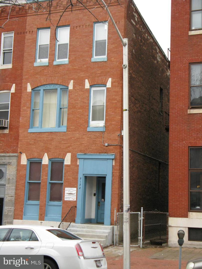 Commercial for Sale at 2122 Maryland Ave Baltimore, Maryland 21218 United States