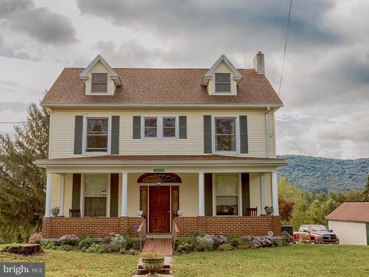 Single Family for Sale at 10680 Path Valley Rd Fannettsburg, Pennsylvania 17221 United States