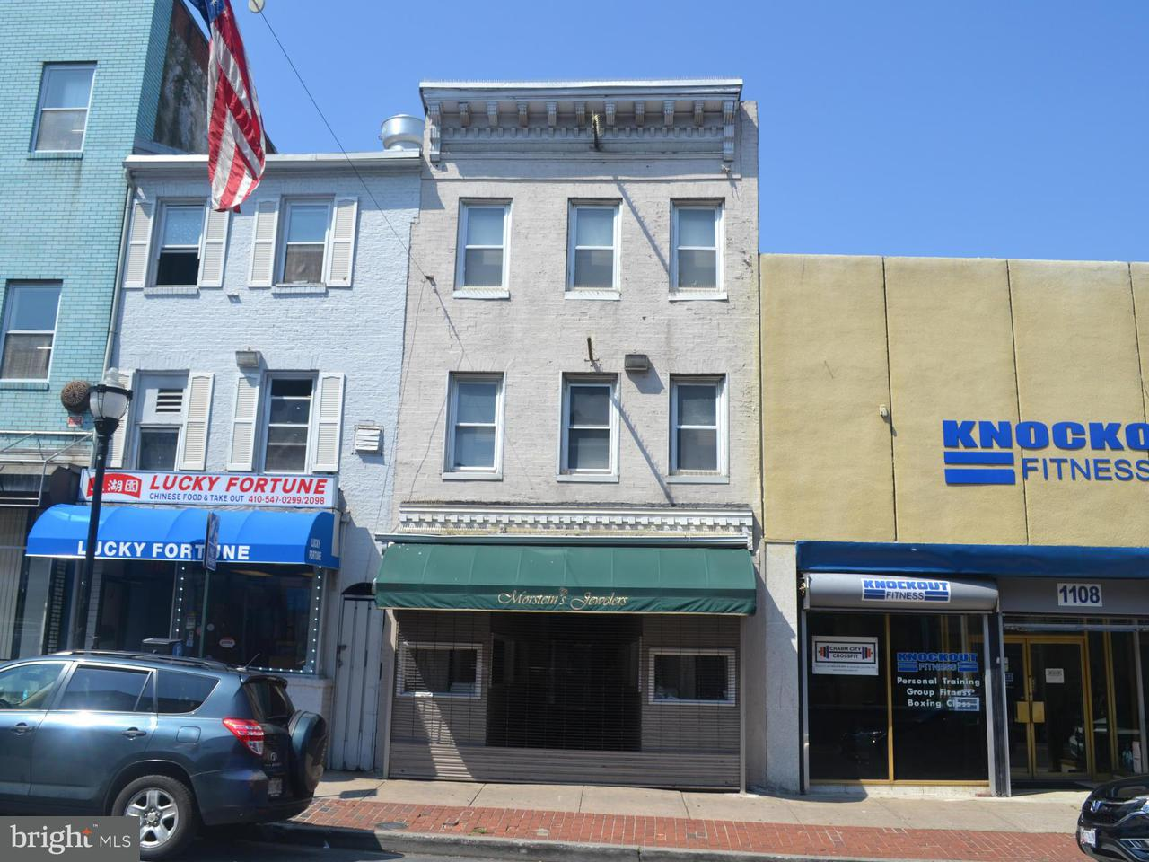 Photo of home for sale at 1114 Light Street, Baltimore MD