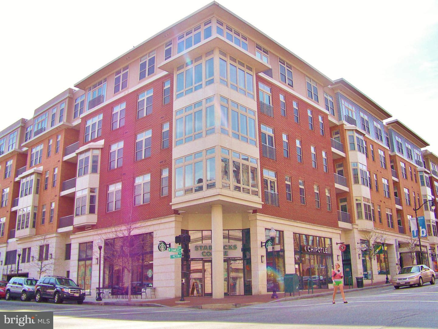 Other Residential for Rent at 1209 Charles St #409 Baltimore, Maryland 21201 United States
