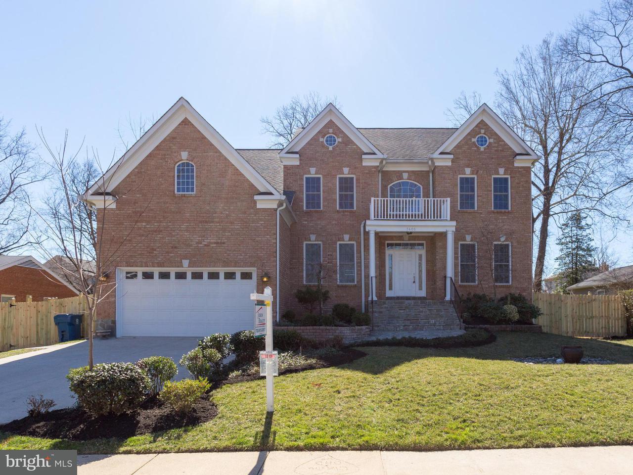Maison unifamiliale pour l Vente à 7405 Blackford Street 7405 Blackford Street Springfield, Virginia 22151 États-Unis