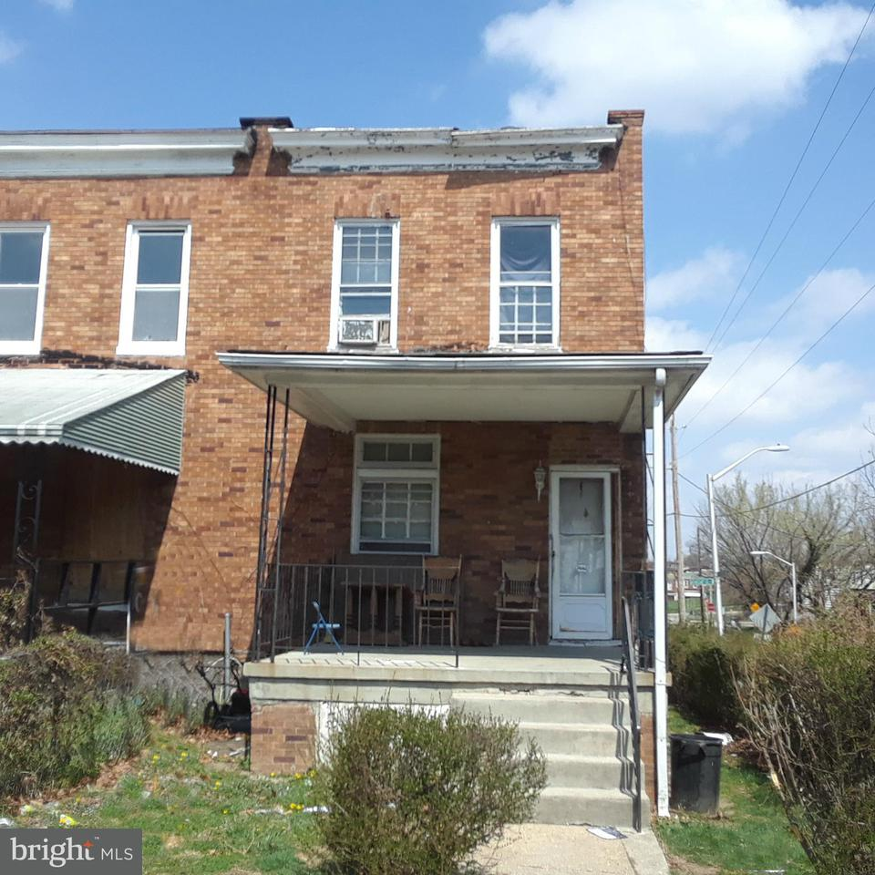 Single Family for Sale at 3000 Harlem Ave Baltimore, Maryland 21216 United States