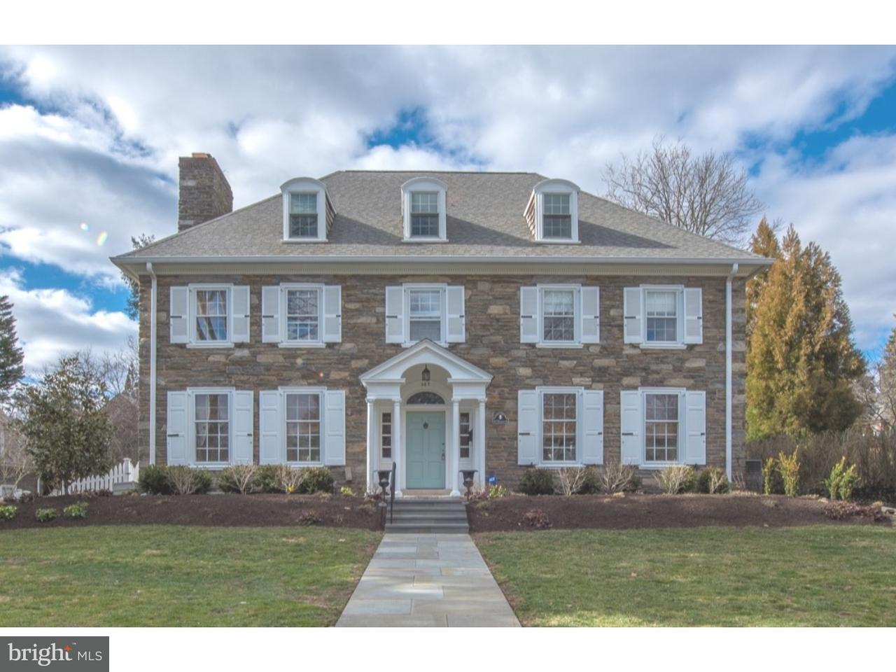 Single Family Home for Sale at 367 BROOKWAY Road Merion Station, Pennsylvania 19066 United States