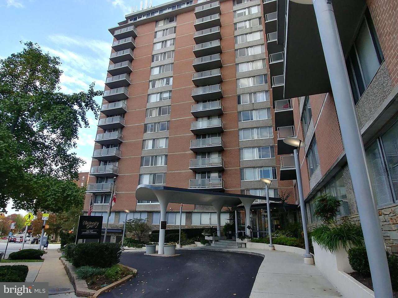 Condominium for Sale at 1 University Pkwy E #1003 Baltimore, Maryland 21218 United States
