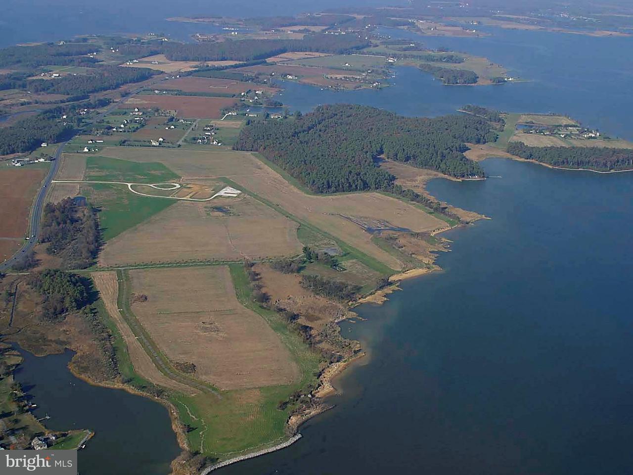 土地,用地 为 销售 在 6265 Tilghman Island Road 6265 Tilghman Island Road Tilghman, 马里兰州 21671 美国