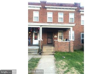 Single Family for Sale at 3205 Normount Ave Baltimore, Maryland 21216 United States