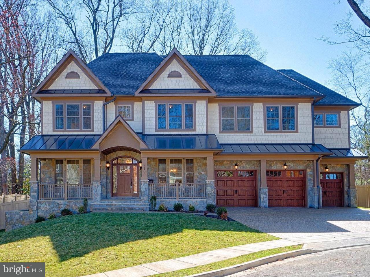 Μονοκατοικία για την Πώληση στο 3106 Taylor Street 3106 Taylor Street Arlington, Βιρτζινια 22207 Ηνωμενεσ Πολιτειεσ