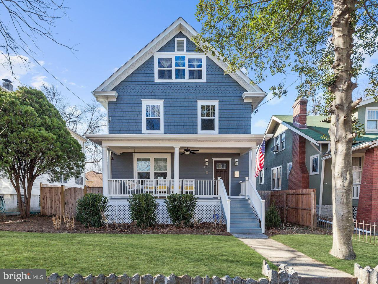 Single Family Home for Sale at 3404 22nd St Ne 3404 22nd St Ne Washington, District Of Columbia 20018 United States