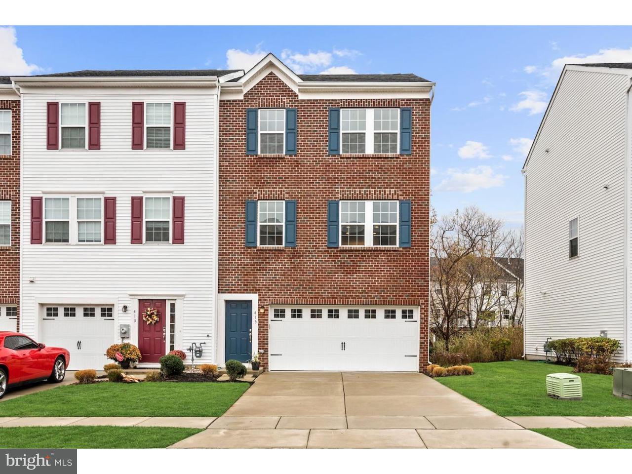 联栋屋 为 销售 在 415 DOGWOOD Drive Deptford Township, 新泽西州 08096 美国