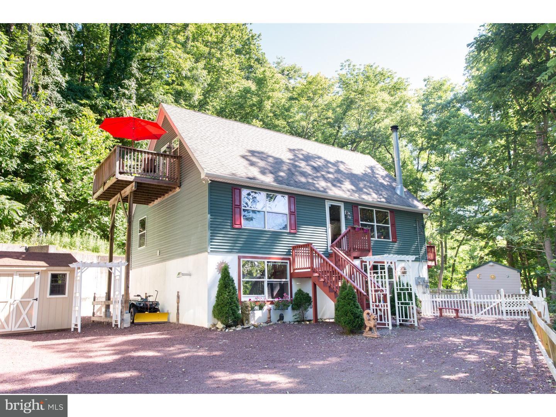Частный односемейный дом для того Продажа на 241 SPRING HILL Road Riegelsville, Пенсильвания 18077 Соединенные Штаты