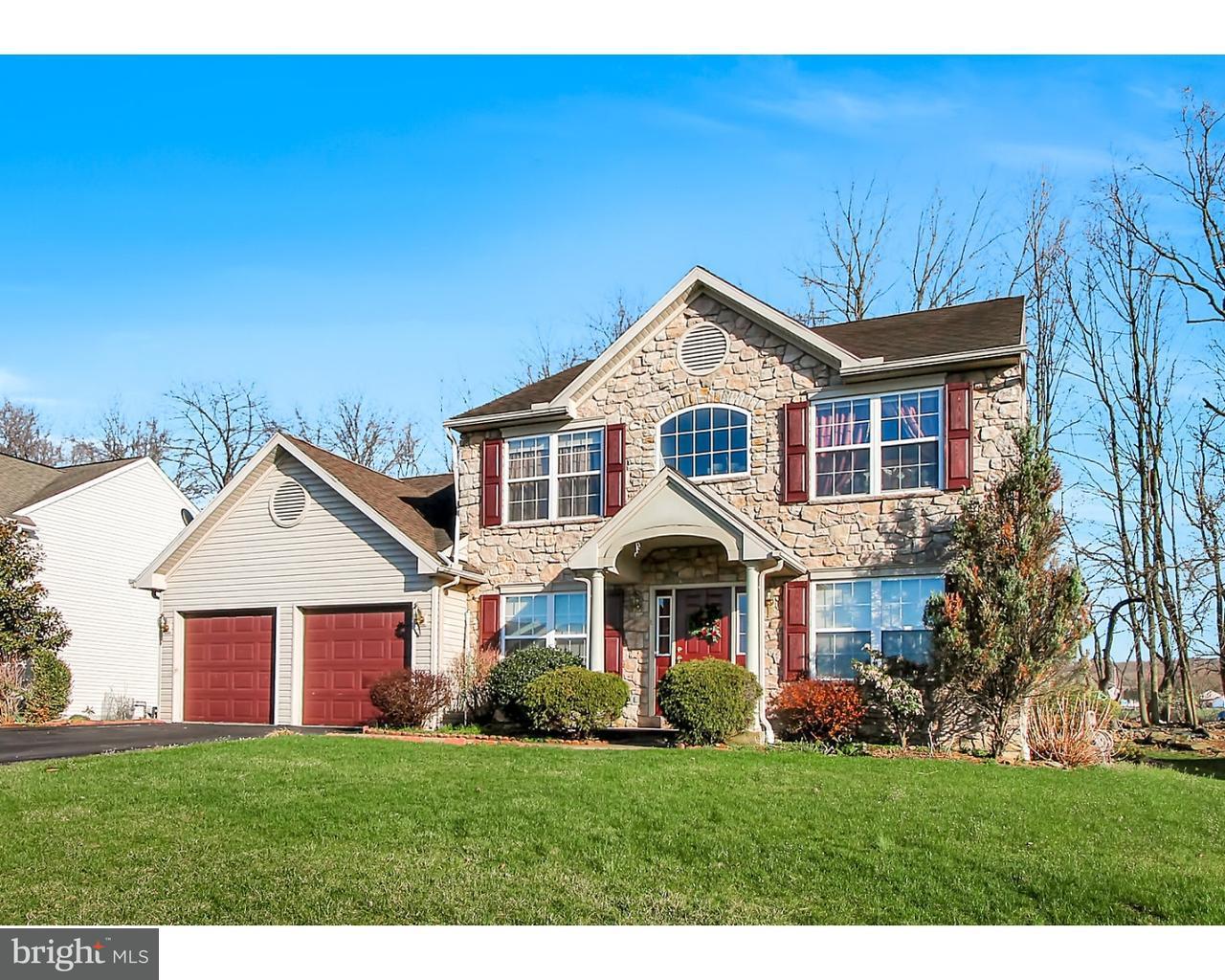 独户住宅 为 销售 在 123 CORNERSTONE Drive Blandon, 宾夕法尼亚州 19510 美国